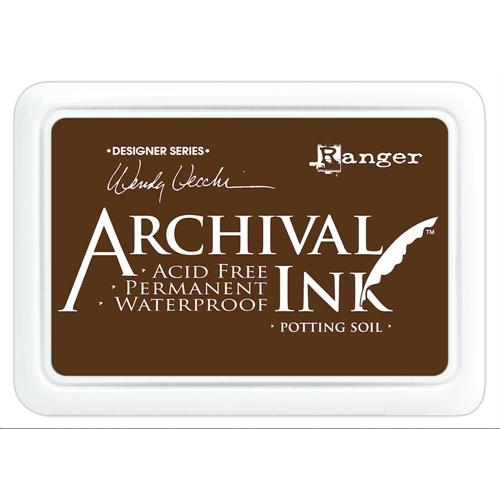 ARCHIVAL INK STAMP PAD POTTING SOIL