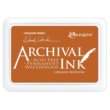 RANGER ARCHIVAL INK PAD  ORANGE BLOSSOM