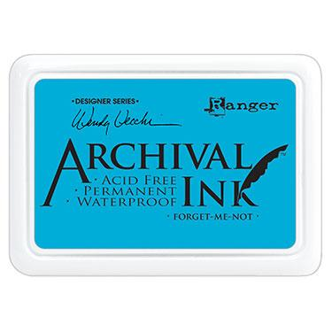 RANGER ARCHIVAL INK PAD FORGET ME NOT