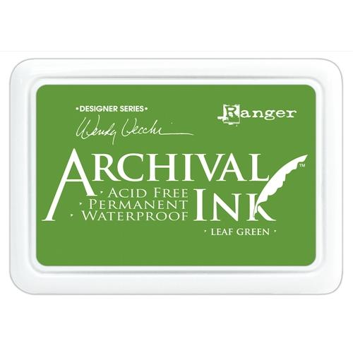 RANGER ARCHIVAL INK PAD LEAF GREEN