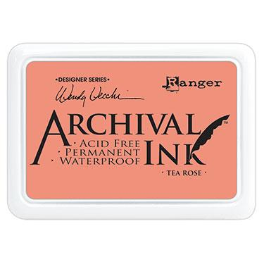 ARCHIVAL INK STAMP PAD TEA ROSE
