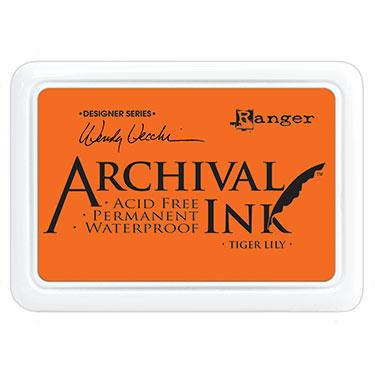 RANGER ARCHIVAL INK PAD TIGER LILY