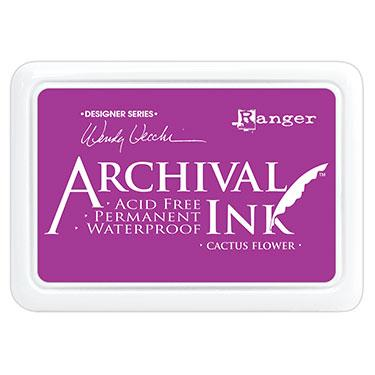 RANGER ARCHIVAL INK PAD CACTUS FLOWER