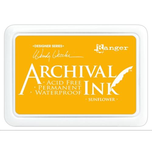 ARCHIVAL INK STAMP PAD SUNFLOWER