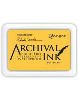 RANGER ARCHIVAL INK PAD BUTTERCUP