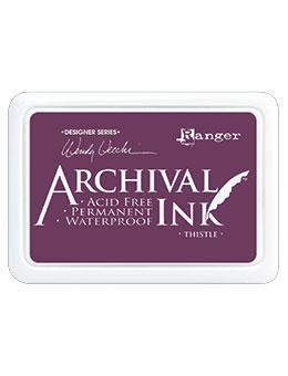 RANGER ARCHIVAL INK PAD THISTLE