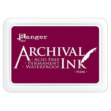 RANGER ARCHIVAL INK PAD PLUM