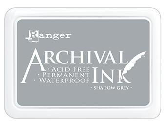 RANGER ARCHIVAL INK PAD SHADOW GREY