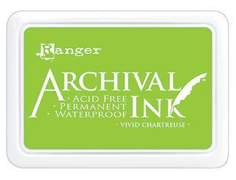 RANGER ARCHIVAL INK PAD VIVID CHARTREUSE
