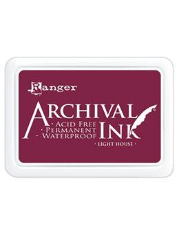 ARCHIVAL INK STAMP PAD LIGHT HOUSE