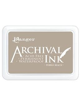 ARCHIVAL INK STAMP PAD PEBBLE BEACH