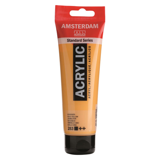 AMSTERDAM  ACRYLICS  PAINT 120ML GOLD YELLOW