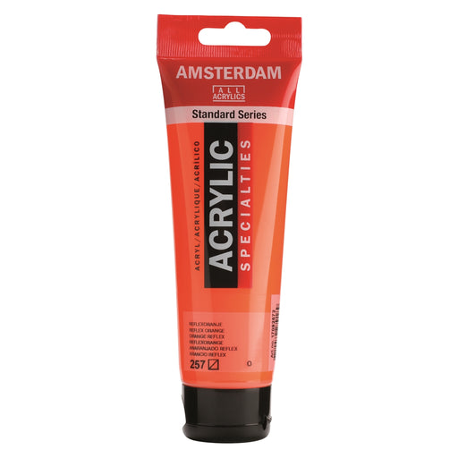 AMSTERDAM  ACRYLICS  PAINT 120ML REFLEX ORANGE