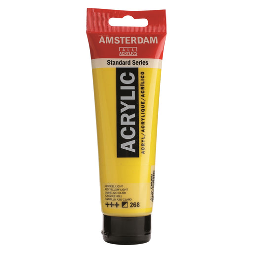 AMSTERDAM  ACRYLICS  PAINT 120ML AZO YELLOW LIGHT