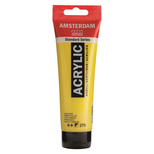 AMSTERDAM  ACRYLICS  PAINT 120MLPRIMARY YELLOW