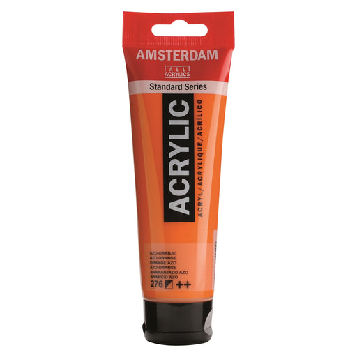 AMSTERDAM  ACRYLICS  PAINT 120ML AZO ORANGE