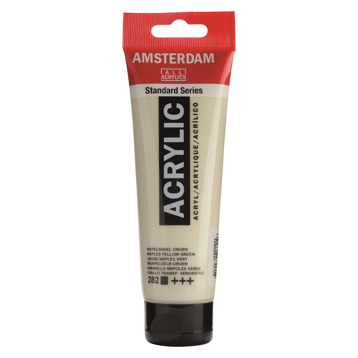 AMSTERDAM  ACRYLICS  PAINT 120ML NAPLES YELLOW GREEN
