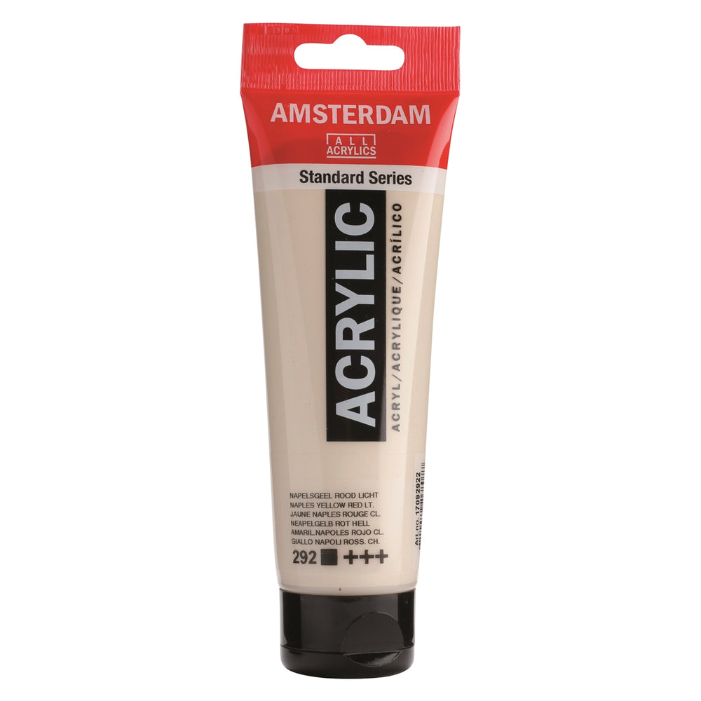 AMSTERDAM  ACRYLICS  PAINT 120ML NAPLES YELLOW RED LT