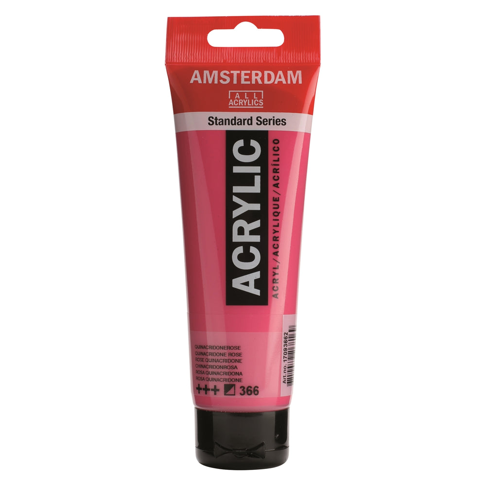 AMSTERDAM  ACRYLICS  PAINT 120ML QUINAROSE