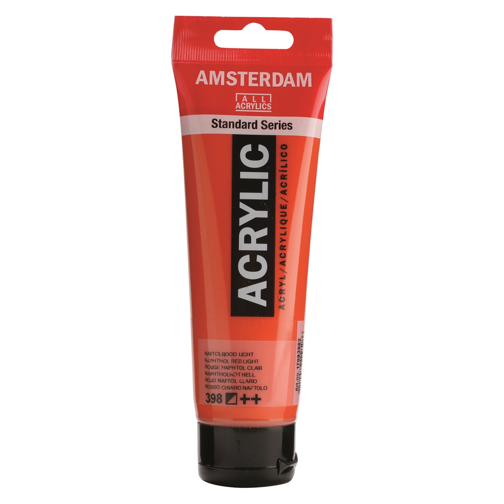 AMSTERDAM  ACRYLICS  PAINT 120ML RED LIGHT