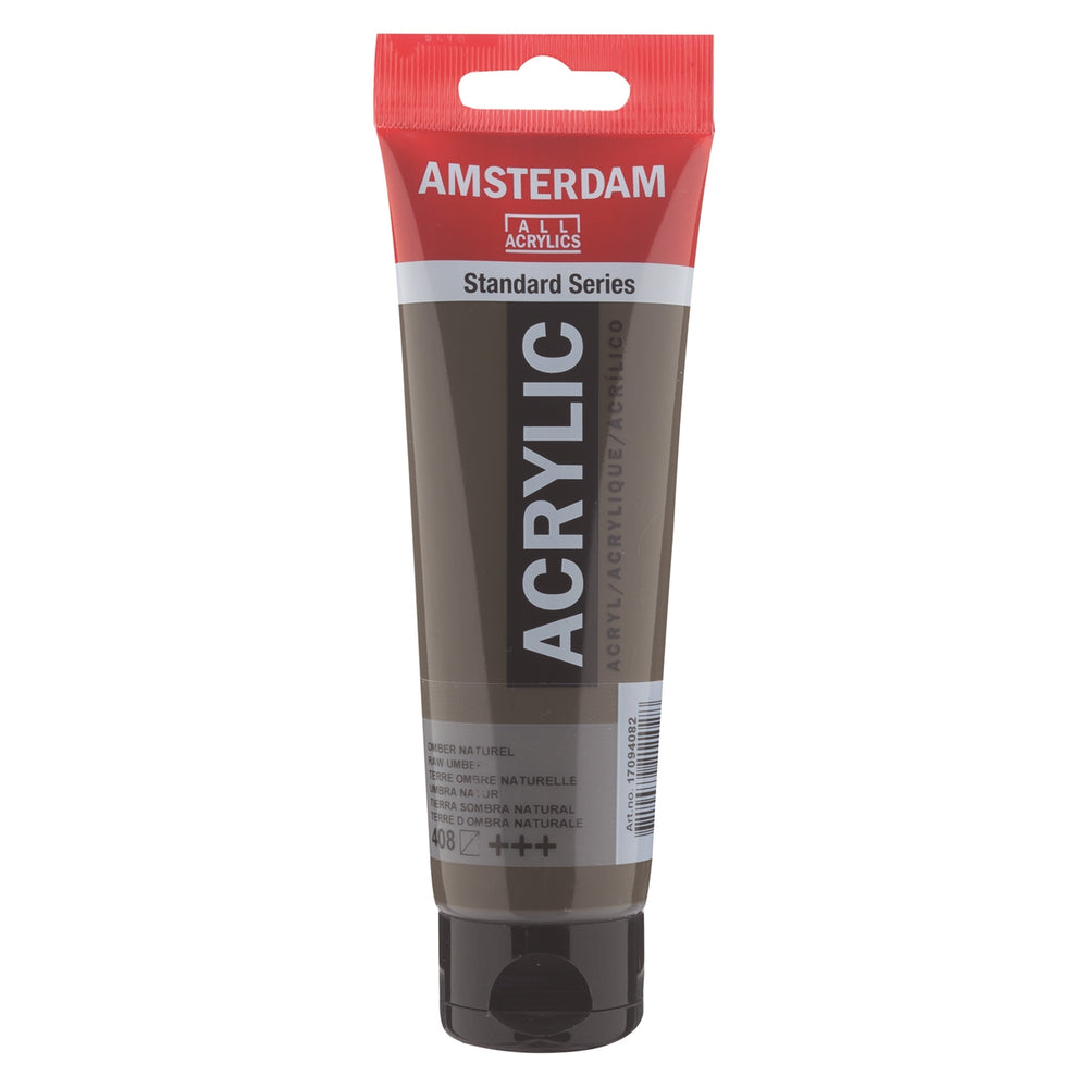AMSTERDAM  ACRYLICS  PAINT 120ML RAW UMBER