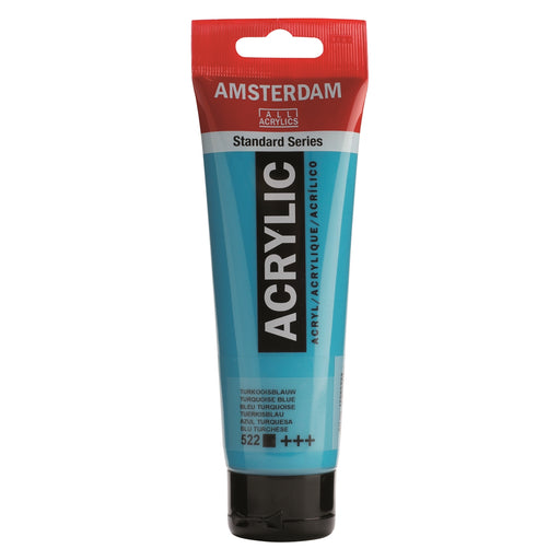 AMSTERDAM  ACRYLICS  PAINT 120ML TURQUOISE BLUE