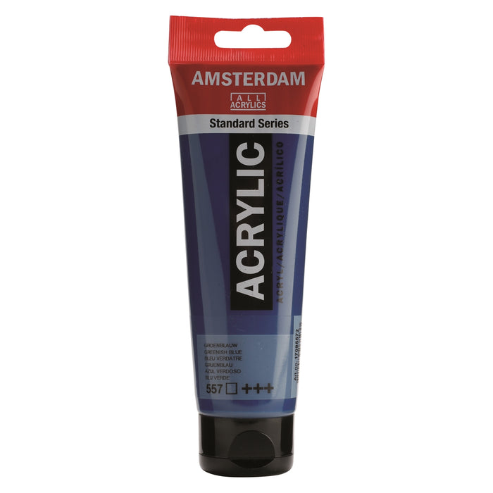 AMSTERDAM  ACRYLICS  PAINT 120ML GREENISH BLUE