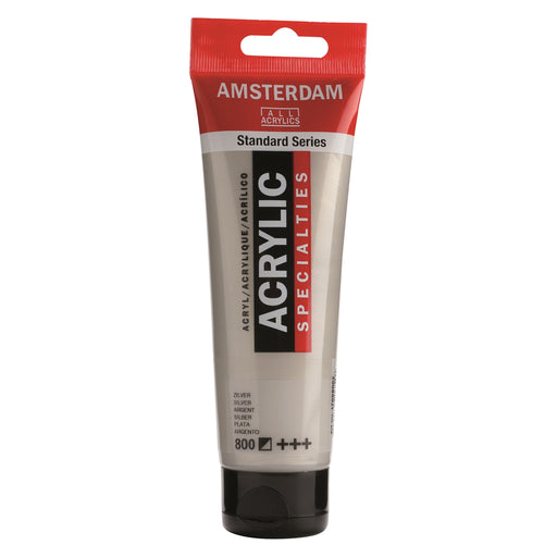 AMSTERDAM  ACRYLICS  PAINT 120ML SLIVER
