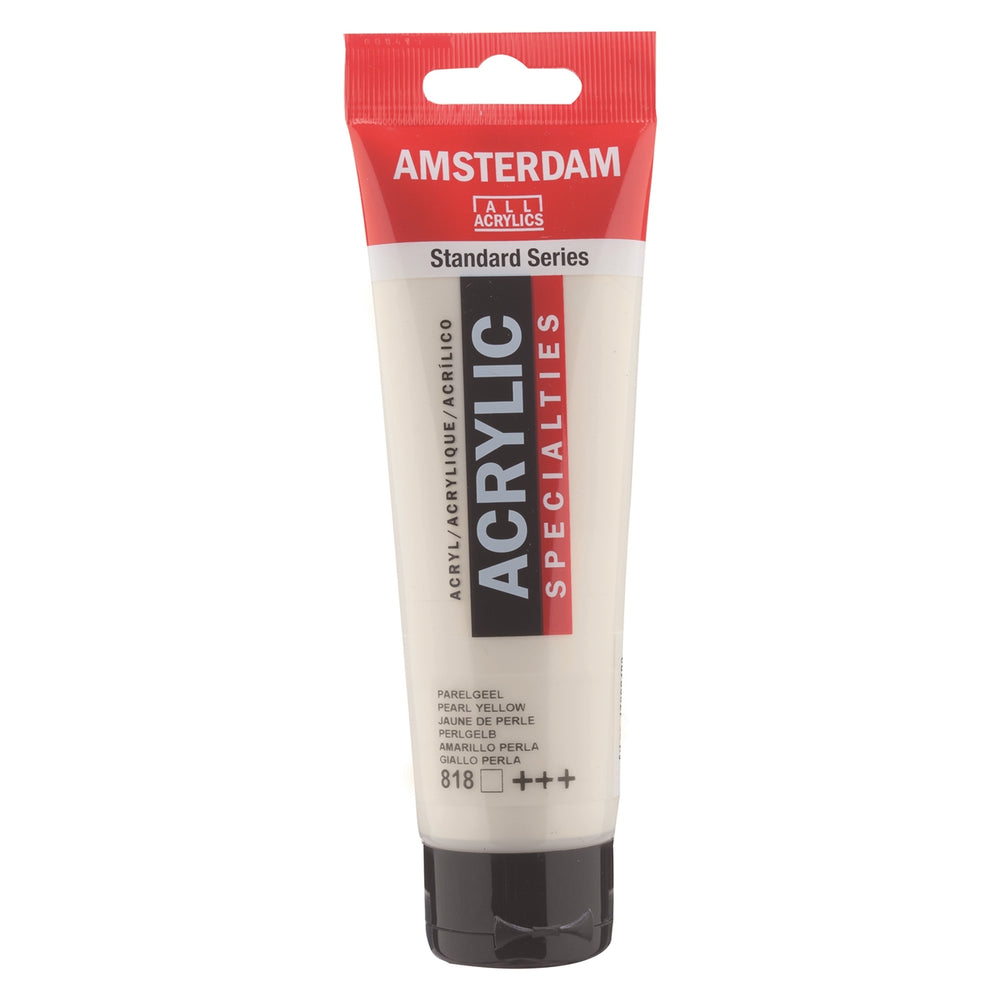 AMSTERDAM  ACRYLICS  PAINT 120ML PEARL YELLOW