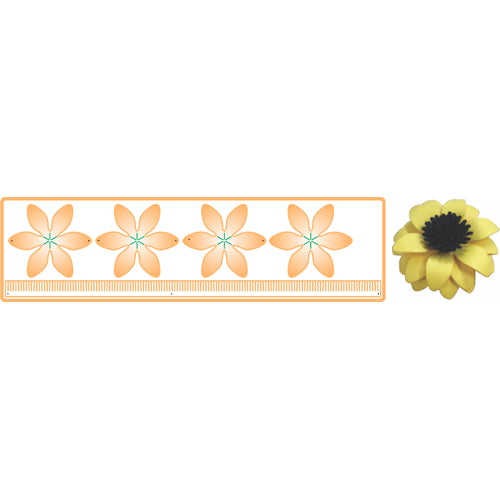 CHEERY LYNN DIE BLACK EYED SUSAN STRIP