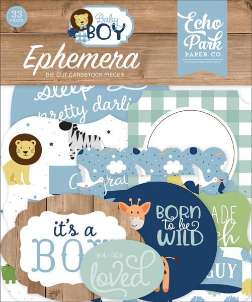 ECHO PARK  BABY BOY  EPHEMERA  ICON