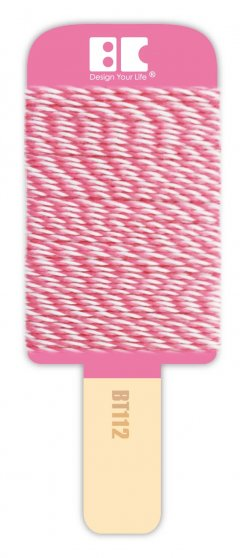 BEST CREATIONS BAKERS TWINE HOT PINK