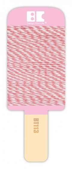 BEST CREATIONS BAKERS TWINE  PINK