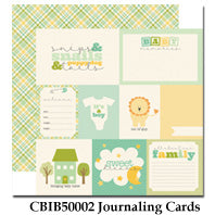 CARTA BELLA  12X12 PAPER ITS A BOY JOURNALING CARDS