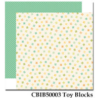 CARTA BELLA  12X12 PAPER ITS A BOY TOY BLOCKS