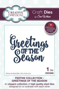 SUE WILSON FESTIVE COLLECTION GREETING OF SEASON