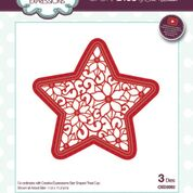 SUE WILSON  FESTIVE COLLECTION POINSETTIA STAR