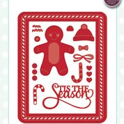 SUE WILSON FESTIVE COLLECTION GINGERBREAD MAN