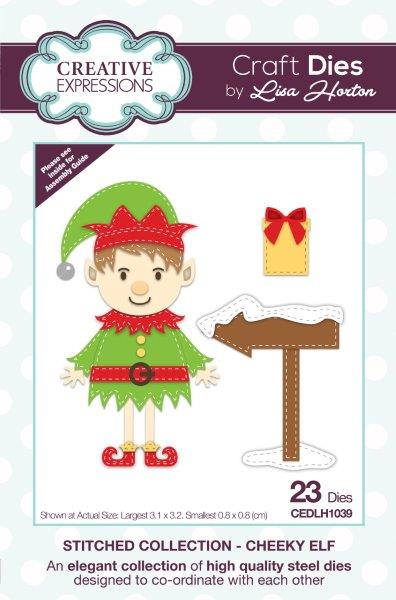 LISA HORTON DIES STITCHED COLLECTION CHEEKY ELF
