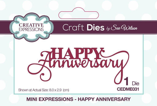 Mini Expressions Collection Happy Anniversary