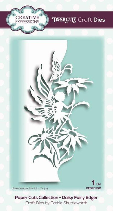 PAPER CUTS  DIES COLLECTION  DAISY FAIRY  EDGER
