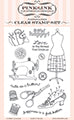 IMPRESSION OBSESSION  CLEAR STAMP  SEW HAPPY SET