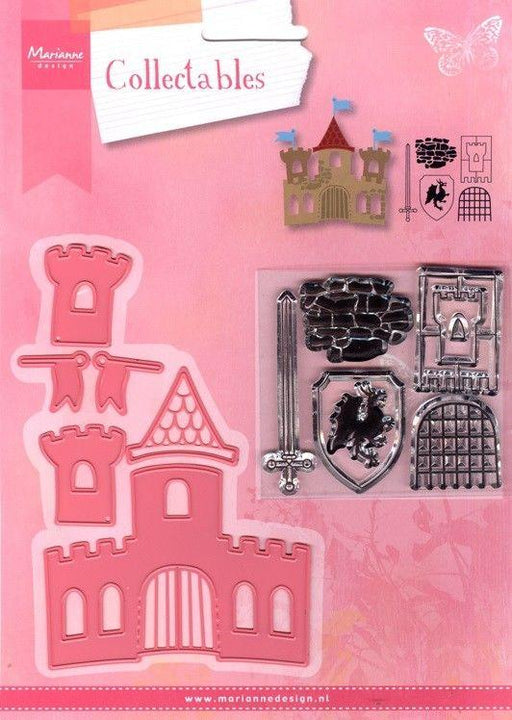 MARIANNE DESIGN STAMP AND  DIES  CASTLE