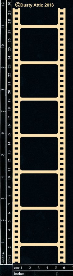 DUSTY ATTIC CHIPBOARD FILMSTRIP