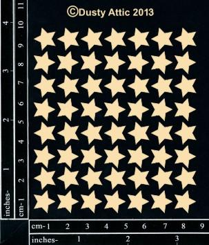DUSTY ATTIC CHIPBOARD MINI STARS