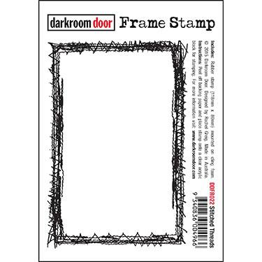DARKROOM DOOR  FRAME STAMP SHIPPING THREADS