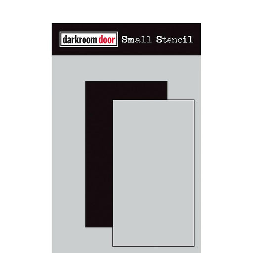 DARKROOM DOOR SMALL STENCIL RECTANGLE SET