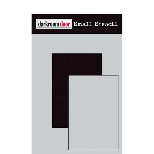 DARKROOM DOOR SMALL STENCIL SHORT RECTANGLE SET