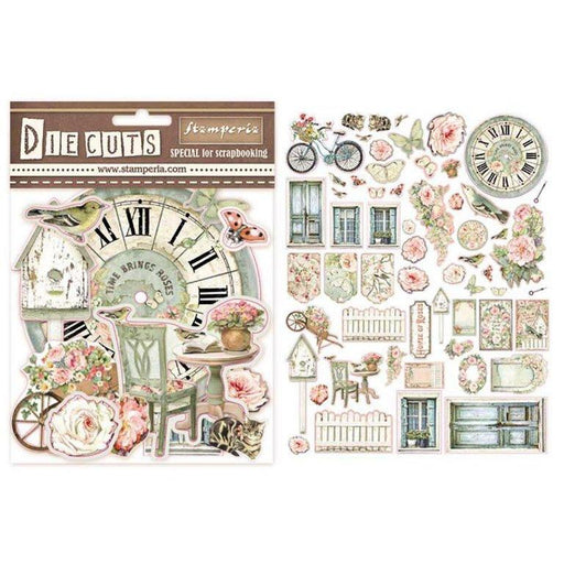 STAMPERIA   DIE CUTS ASSORTED HOUSE OF ROSES