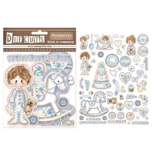 STAMPERIA   DIE CUTS ASSORTED LITTLE BOY
